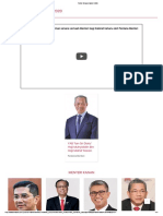 Politik_ Senarai Kabinet 2020