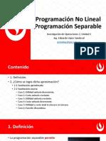 1 - 3 Programación No Lineal Progamacion Separable.pdf