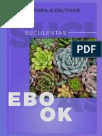 Aprenda a cultivar suculentas