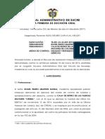 NR 2015-00084-01 ANGEL EMIRO UBARNES VS CREMIL - SENTENCIA---