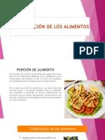 CLASE N°03-CLASIFICACION DE LOS ALIMENTOS.pptx