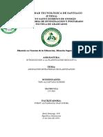 ESTRATEGIA DE PLANIFICACION. ASIGNACION