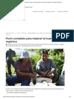 Purín completo para mejorar la huerta orgánica – Red de Guardianes de Semillas del Ecuador