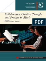 (Sempre Studies in the Psychology of Music) Margaret S. Barrett - Collaborative Creative Thought and Practice in Music-Ashgate Pub Co (2014)