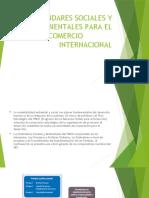 ESTÁNDARES SOCIALES Y AMBIENTALES PARA EL COMERCIO  NTERNACIONAL