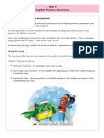 Year 4 English Practice Questions Answer Booklet