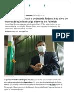 Governador do Piauí e deputada federal são alvo de operação que investiga desvios do Fundeb _ HuffPost Brasil