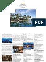 Ex Destination Spa, Sanctuary Thailandia (fact sheet 2011) www.ideeperviaggiare.it