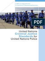 UNITED NATIONS Criminal Justice Standards for UN Police