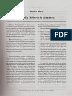 10034226_Mora, A. Filosofìa e Historia de La Filosofia