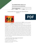 Ejercicios de Comprensión de Lectura para Bachillerato para alumnos parte I.pdf