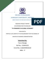 E-COMMERCE IN GLOBAL SCENARIO - TARUN MBA IT - IV SEM - SUBHARTI.pdf