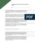 CUESTIONARIO DE PLAN PARA LA VIGILANCIA, PREVENCIÓN Y CONTROL DE COVID-19 EN EL TRABAJO (PVPC COVID-19 EN EL TRABAJO)