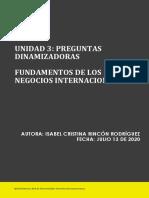 Preguntas Dinamizadora Unidad 3 Fundamentos de los Negocios Internacionales  (1)