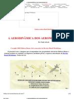 A AERODINÂMICA DOS AEROMODELOS