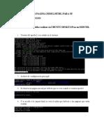 Configuracion Index y Host Virtuales