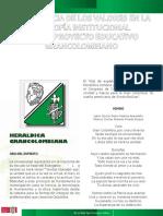 HERALDICA Y PRINCIPIOS FUNDACIONALES