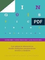 (Lingüística Iberoamericana 52) Charaudeau, Patrick_ Granato, Luisa_ Shiro, Martha - Los géneros discursivos desde múltiples perspectivas_ teorías y análisis (2014)