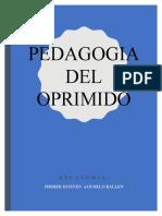 pedagogia del oprimido