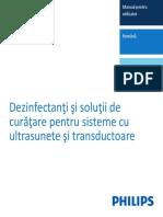 Dezinfectanţi şi soluţii de curăţare pentru sisteme cu ultrasunete şi transductoare_453562014751a_ro-RO.pdf