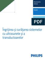 Îngrijirea şi curăţarea sistemelor cu ultrasunete şi a transductoarelor_453562014361a_ro-RO.pdf