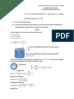 ejemplo densidad volumétrica de carga con cilindro