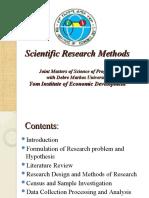 Part 1- Basic Research Method