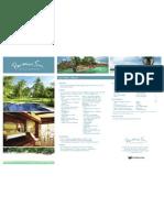 Paradis Sun Seychelles (fact sheet 2010) www.ideeperviaggiare.it
