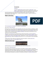 Observational astronomy