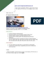 Como recuperar arquivos com PC Inspector File Recovery 4