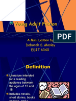 Young Adult Fiction.ppt