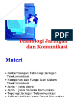 Sesi 11 - Teknologi Jaringan