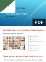 Para Mejorar Las Clases Virtuales