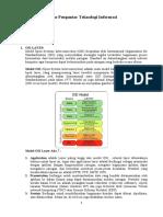 Osi Layer, Saluran Komunikasi Topologi Jaringan, E-commerce