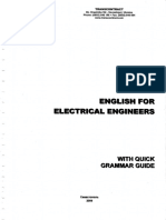 English For Electrical Engineers (with quick grammar guide and technical vocabulary)