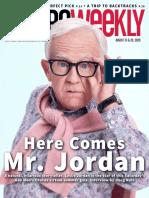 Leslie Jordan - Metro Weekly - August 13 and 20, 2020