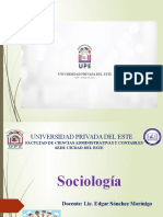 Presentación - Unidad I - Sociología