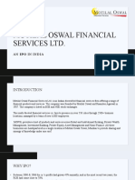 Motilal Oswal Financial services ltd PPT