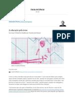 A educação pela treva - 17_02_2019 - Antonio Prata - Folha