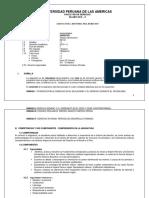 SILABO DE HISTORIA DEL DERECHO UPA 2019-II