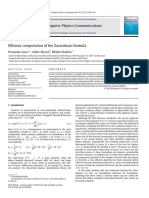 F Casas A Murua and M Nadinic (Efficient computation of the Zassenhaus formula)