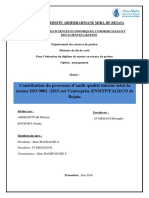 Contribution du processus d'audit qualité interne selon la norme ISO 9001 2015 sur l'entreprise ENMTPFAGECO de BEJAIA (2)