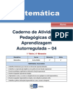Caderno de atividades - Matemática - 1ª série do Ensino Médio - 4º Bimestre.pdf