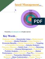 Market Based Management