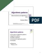 Algorithmic Patterns