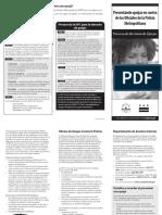 Filing Complaints Brochure_SPA