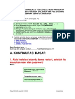 konfigurasi DNS, DHCP dan Samba server di linux