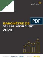 Le Baromètre des KPI du Service Client 2020
