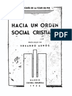 François-René La Tour Du Pin - Hacia Un Orden Social Cristiano [1936]