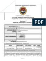 SILABO-TECNOLOGIA DE LA SOLDADURA (E) (2020-A)